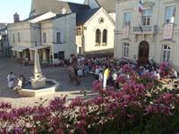 Fontevraud-l'Abbaye's historic square gets a facelift