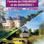 Loir-et-Cher makes free access to Chaumont and Sasnières available to its residents