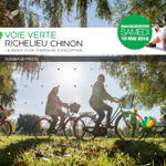 A new green way connects Richelieu to Chinon